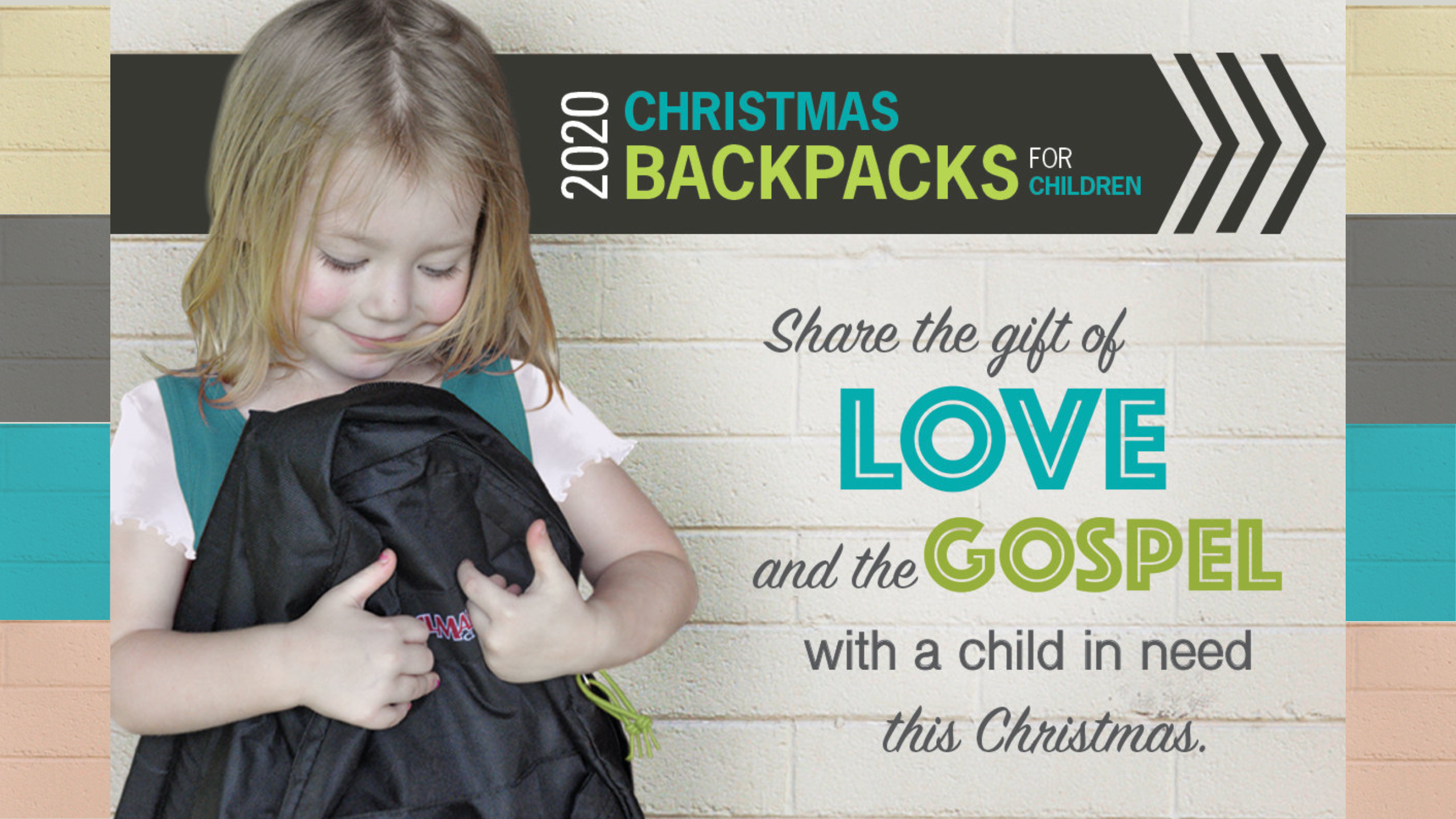 2020 KBC Christmas Backpacks